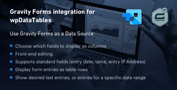 Gravity Forms Integration For Wpdatatables Codecanyon Form Builder Best Free Wordpress Themes