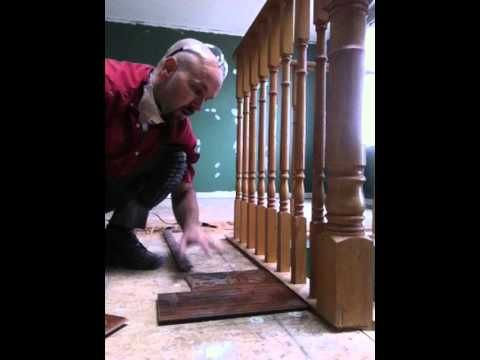Laminate Floating Floor Installation With Sill Plate Stairs Part 2 Floor Installation Floating Floor Stair Parts
