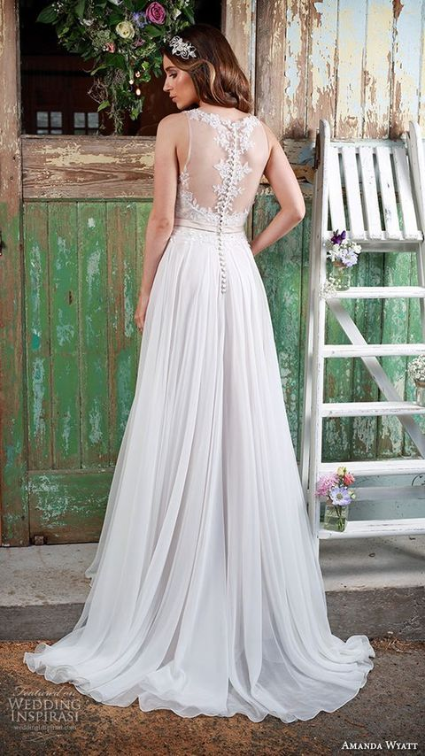 60 Romantic And Airy Flowy Wedding Dresses | #1 bridal gowns ...