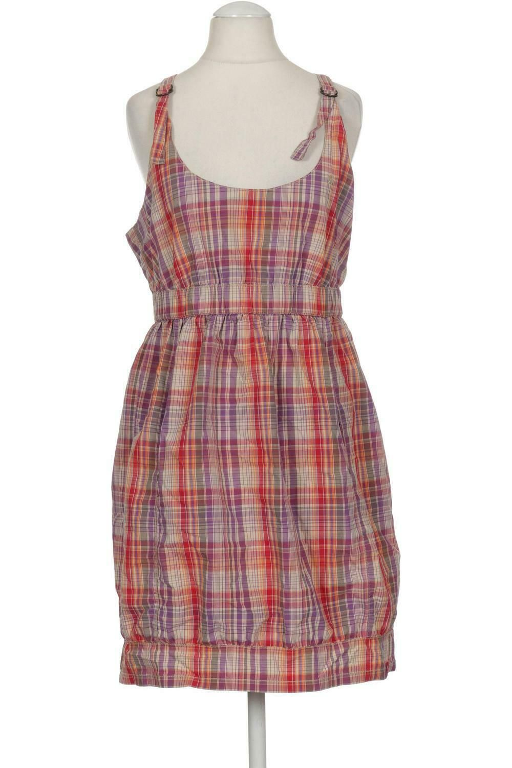 Esprit Kleid Damen Dress Damenkleid Gr. INT S Baumwolle lila