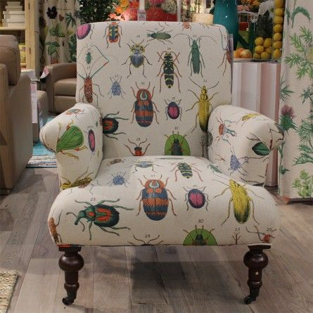 LYDIA CHAIR IN BUGS | Gallery Furniture   Houston, TX