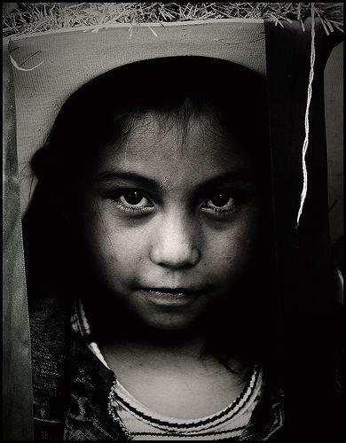 Little girl in hat, Fiestas de San Miguel - San Miguel de Allende