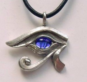 Sapphire eye of rahorus necklace egypt beads 54 birthstone for sapphire eye of rahorus necklace egypt beads 54 birthstone for september aloadofball Images