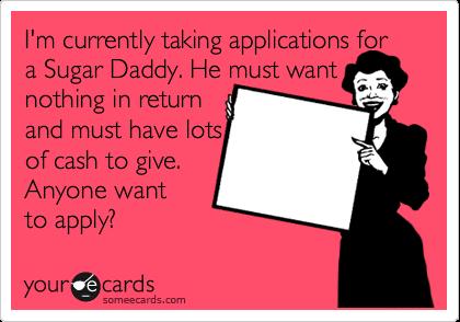 i need a sugar baby