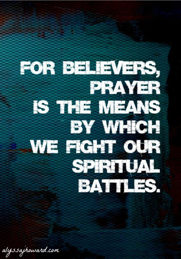 Armor of God: Fighting in Prayer | Great Quotes and Hymns | Armor of