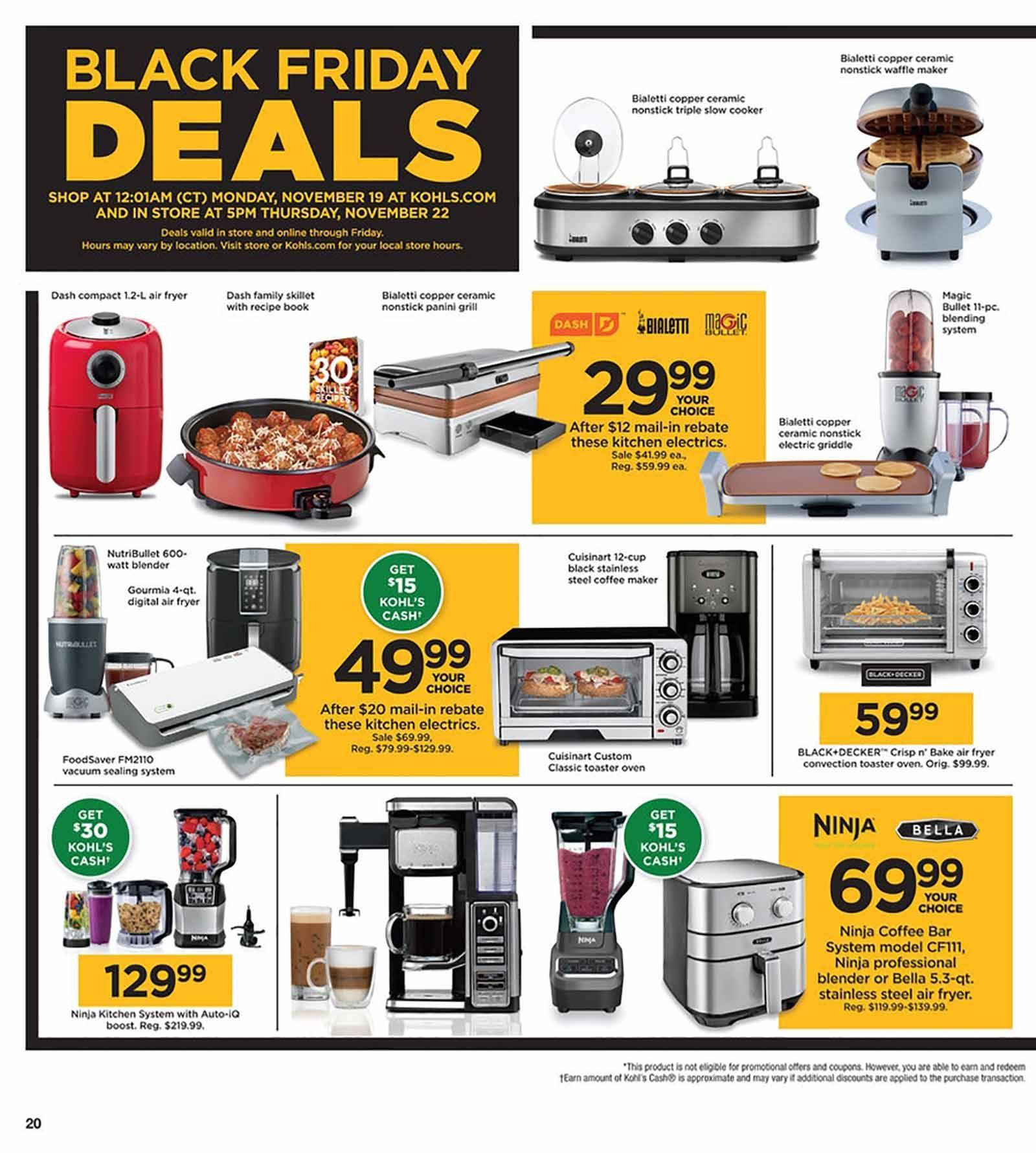 Kohl S Page 13 Ebates Kohls Black Friday Black Friday Ads Kohls