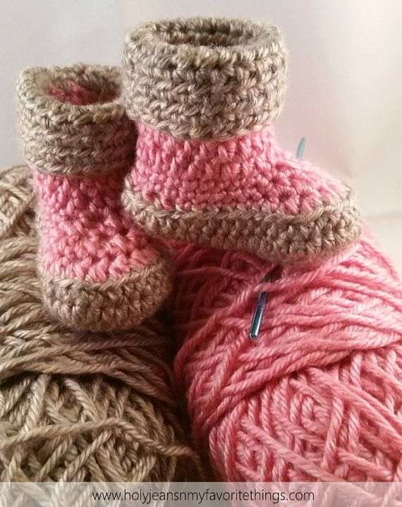 Little Girls Warm Winter Boots by QuarteredHeart on Etsy ...