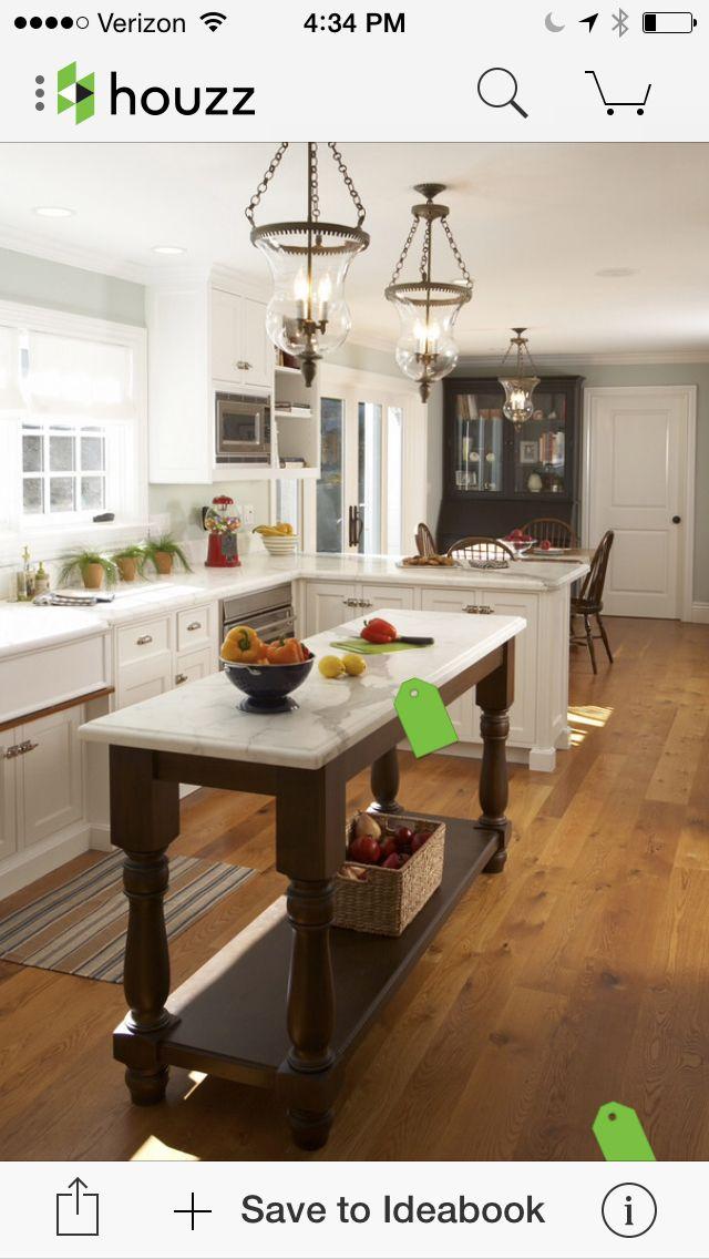 Kitchen Floor Plan Idea
