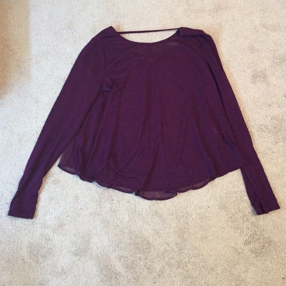 New Soprano long sleeve shirt Brand new, size large Soprano shirt. Eggplant color long sleeve super cute! Soprano Tops Tees - Long Sleeve