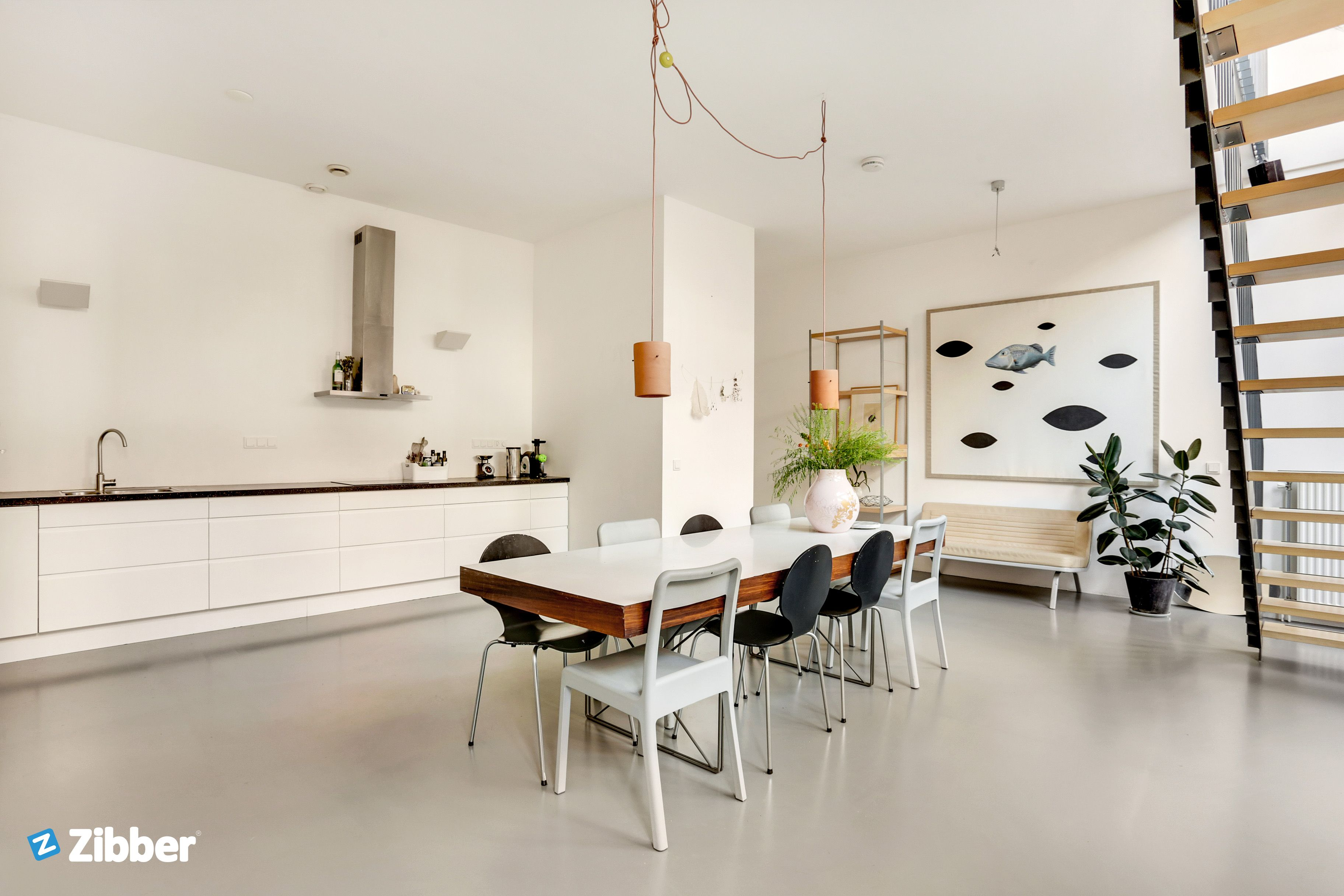 Gorgeous white modern kitchen mixed with lots of inspiration and