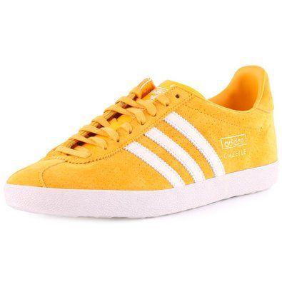 adidas gazelle womens yellow