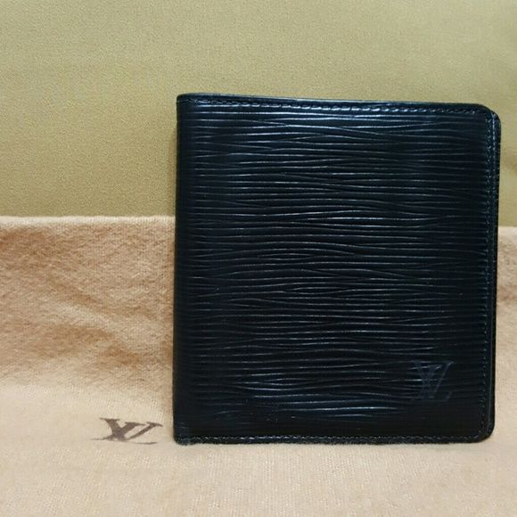 ✔️Authentic Louis Vuitton Wallet Louis Vuitton Epi Leather Wallet Marco Florin Bifold Condition: Good with some scratches, peeling & creasing. Please see photos. Louis Vuitton Bags Wallets
