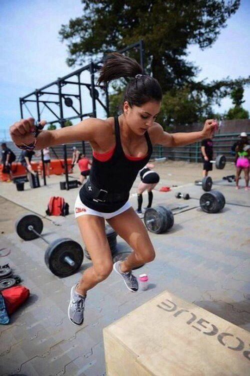 Crossfit pinterest box jumps and gym