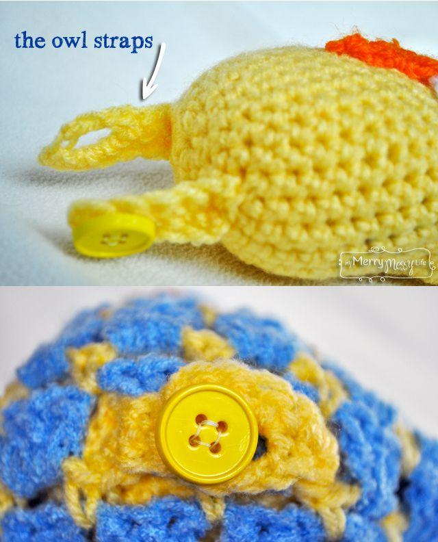Crochet Owl Blanket Lovey Free Pattern Lovey Blanket Crochet