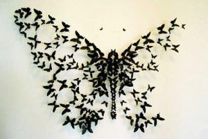 Paper Craft Ideas Kids Adults Butterflies Decorations 11