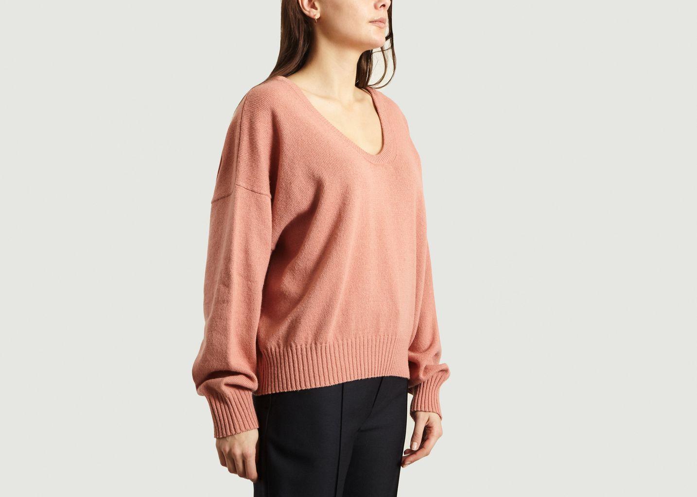See by Chloe Rose V Neck Sweater - Trouva #seebychloe