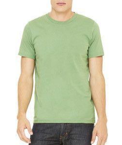 Bella + Canvas Unisex Jersey Short Sleeve T-Shirt 3001C Leaf ... 46e784ae7