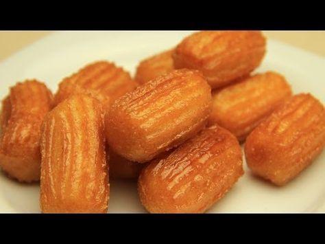 Youtube Cocina Postres | Receta Turca De Postre De Tulumba Masitas Dulces Fritas Con