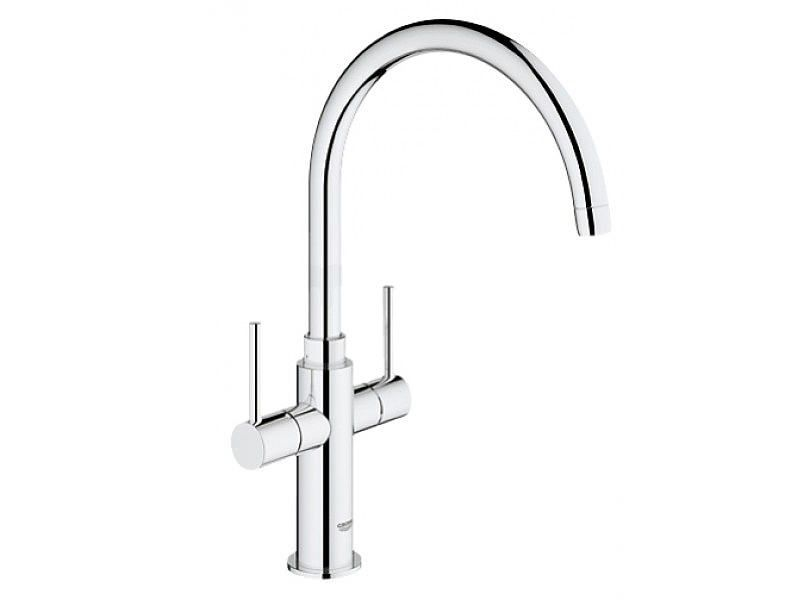 Grohe Ambi Cosmopolitan Kitchen Sink Mixer Tap With 2 Handle ...