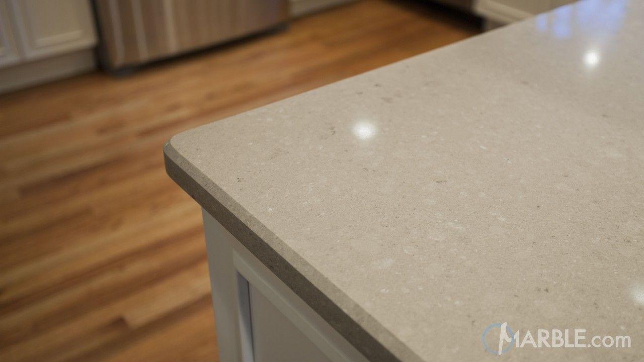 Shitake Ceasarstone Quartz Kitchen Countertop | florida house