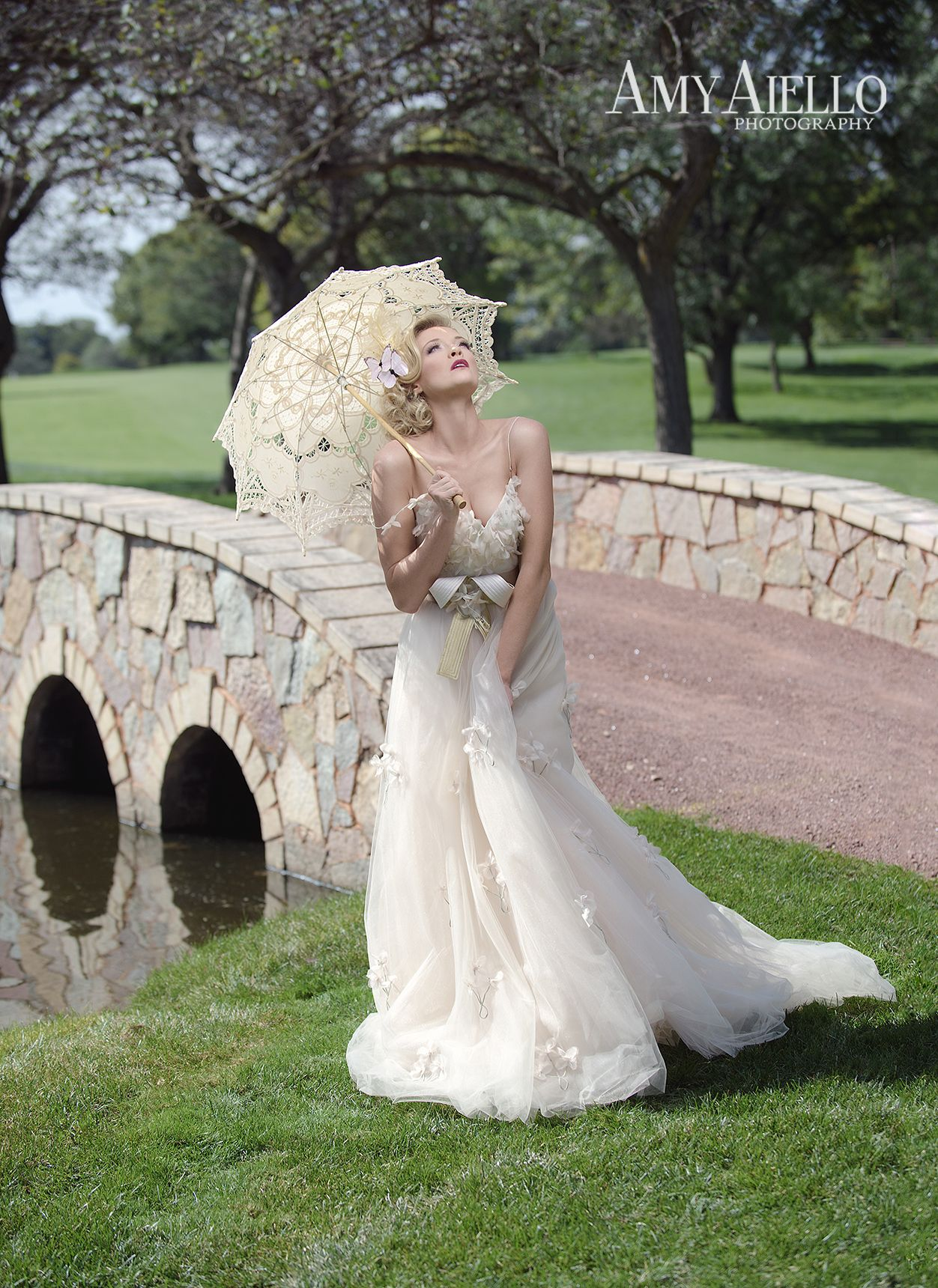 Country girl wedding dress  Chicago bridal fashion photographer high end wedding photographer