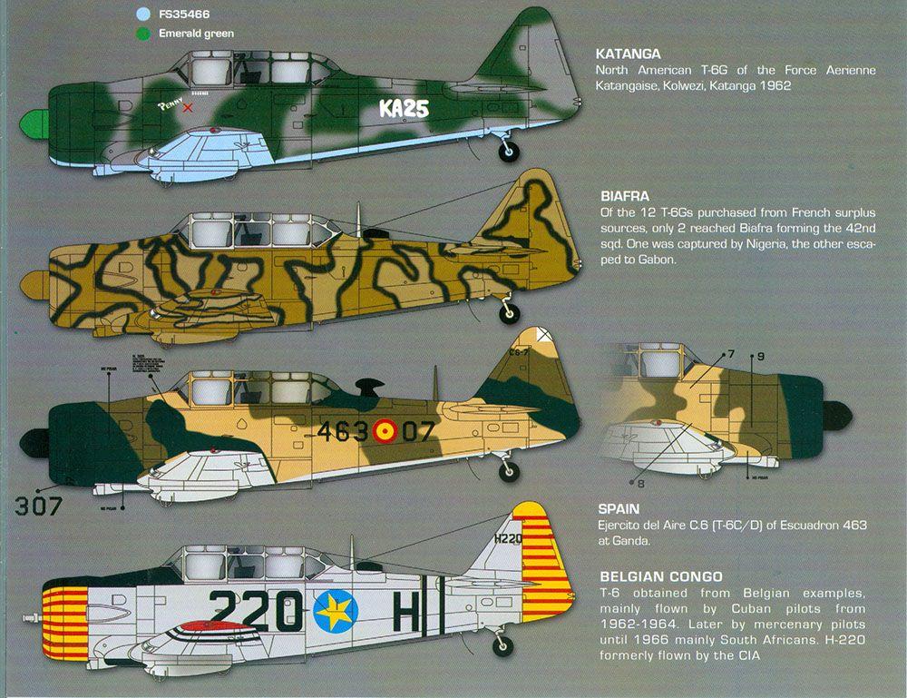 Zotz 1 32 Texan T 6 En Las Etiquetas Guerras Africanas Guerres Guerre Africaine
