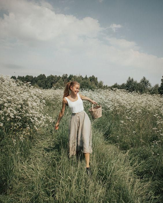 Photo of Feminine Outfit For A Meadow Walk