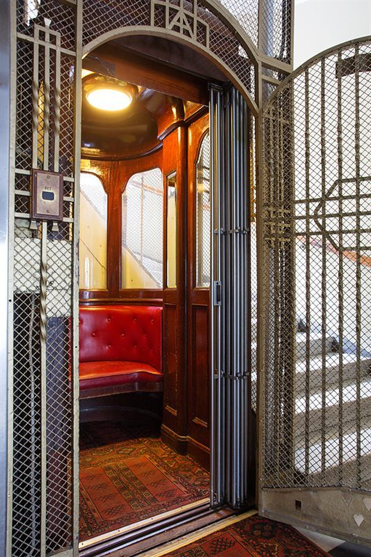 Old Charming Elevator In A Stockholm House In 2019