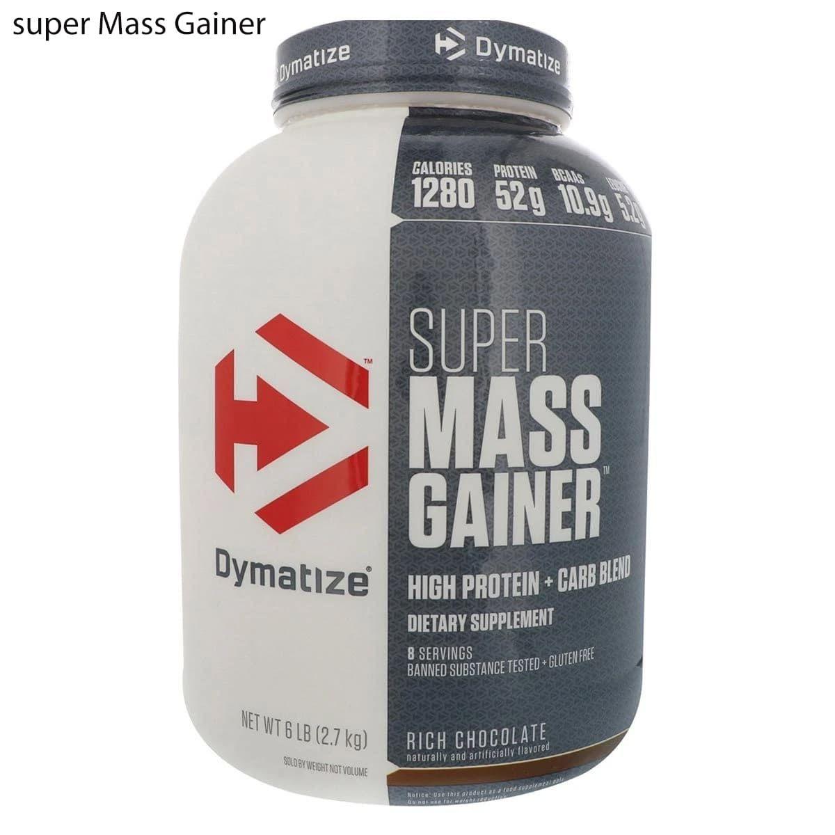 مكمل بروتين مصل سوبر ماس جينر Mass Gainer Creatine Monohydrate Creatine