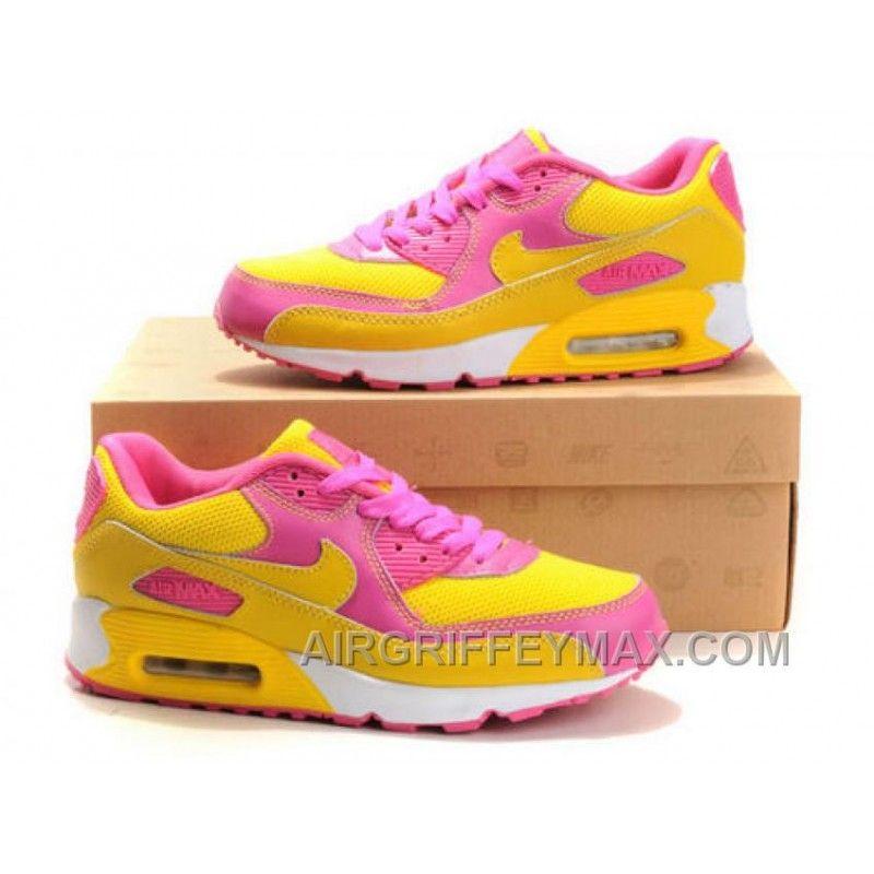 Nike Air Max 90 Yellow/Pink