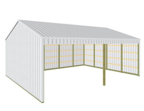 32\' x 40\' x 13\' Loafing Shed at Menards | Home | Pinterest | Shed ...