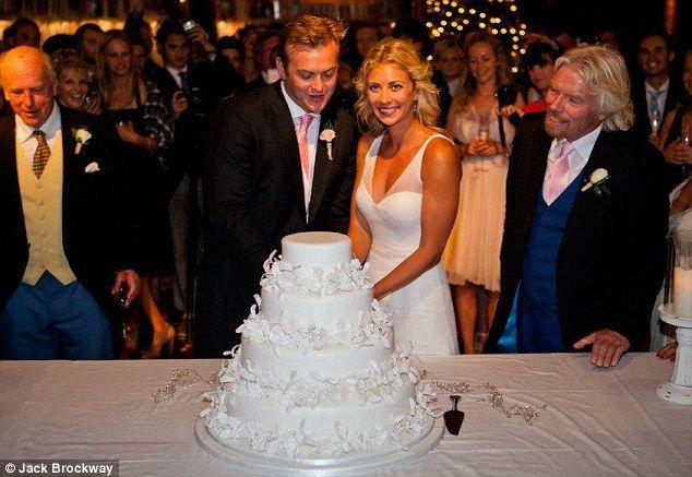 Exclusive Sir Richard Branson Opens Up The Family Album As He Shares Some Photos Of Daughter Holly S Caribbean Wedding Caribbean Wedding Royal Wedding Cake Wedding