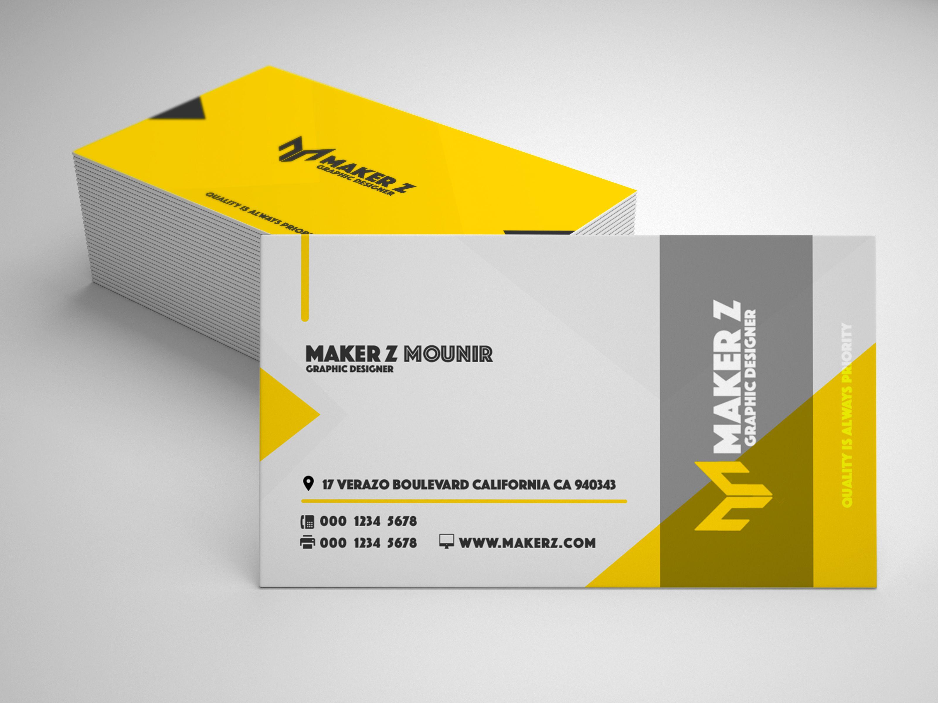 Themakermounir I Will Do 2 Business Card Design Ready For Print For 5 On Fiverr Com Design Business Card Design Card Design