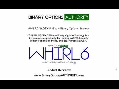 Nadex 5 minute binary options strategies