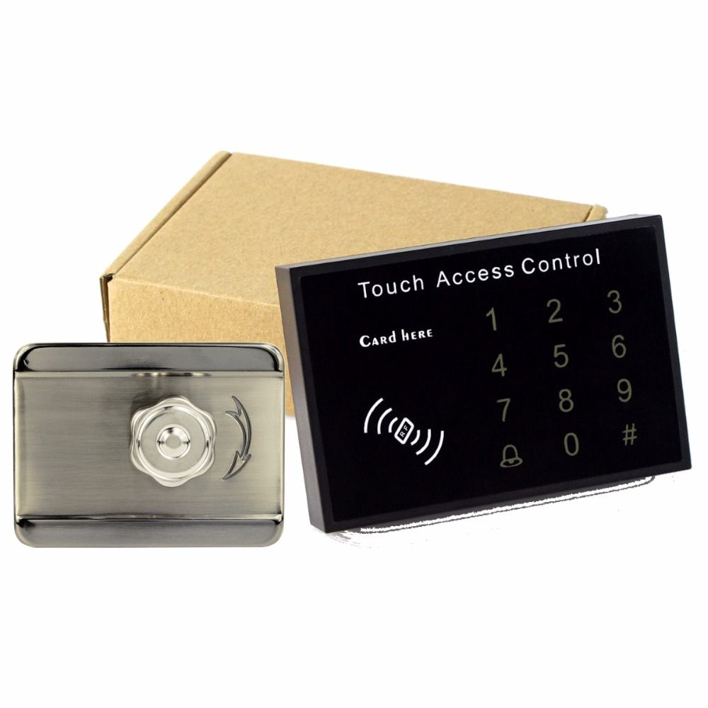 Electronic Door Lock Electric Lock Touch Keyboard Access Control Card Access Control System For Rfid 125 Access Control System Access Control Electric Lock
