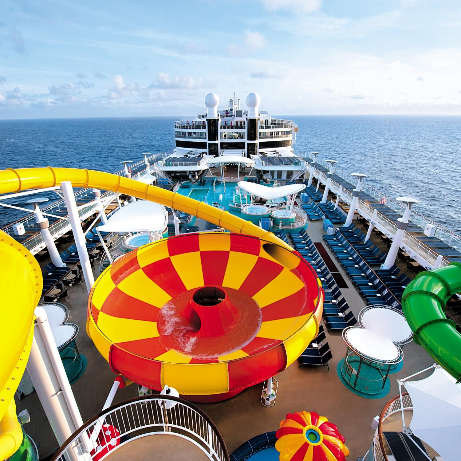 Cruise Ships for Families   Travel   Cool water slides ...