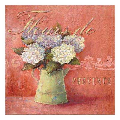 Fleurs De Provence Impressão giclée