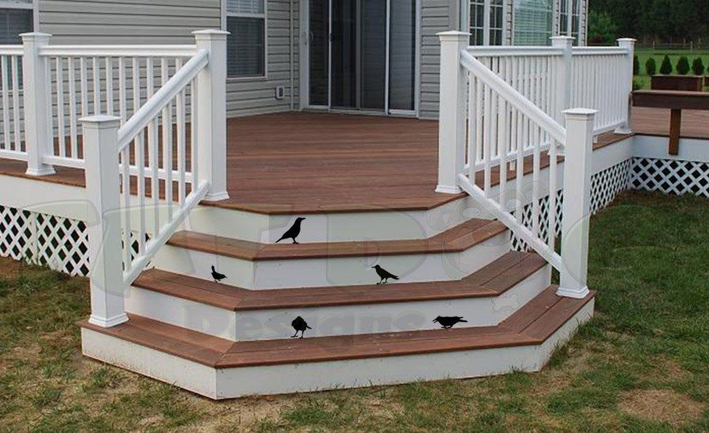 Birds / Ravens Removable Wall and Porch Decals Halloween ...