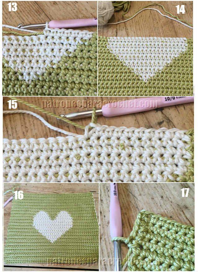 Pin de Sara Rojas Aranda en crochet tapestry | Pinterest | Bolso ...