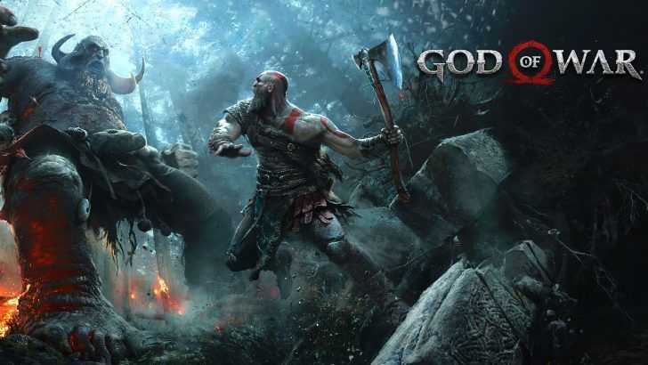 Download God Of War 4 Kratos Hd Wallpaper Fighting 1920x1080