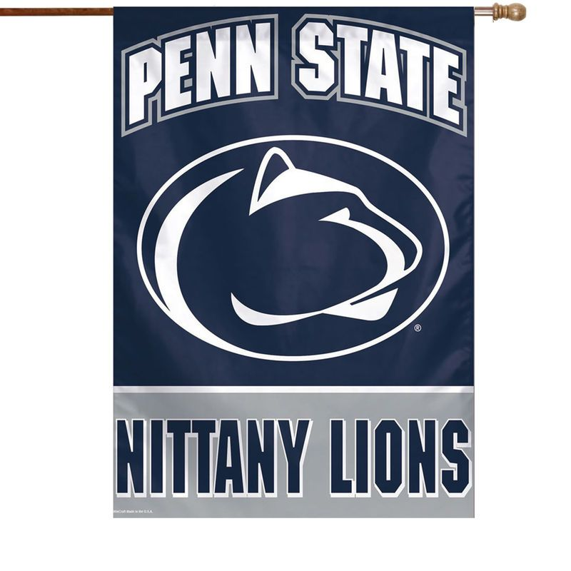 Penn State Nittany Lions Wincraft 28 X 40 Full Name Single Sided