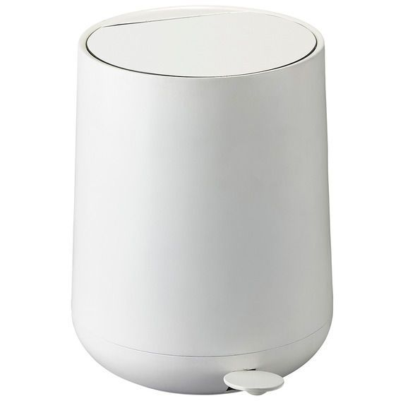Zone Denmark Nova 5L Bathroom Bin White Bathroom bin Denmark and