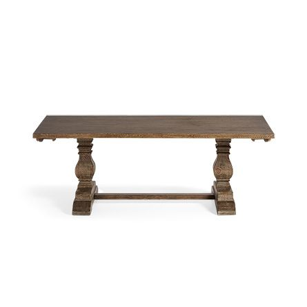 Kensington 118 Extension Dining Table In Benedict Brown