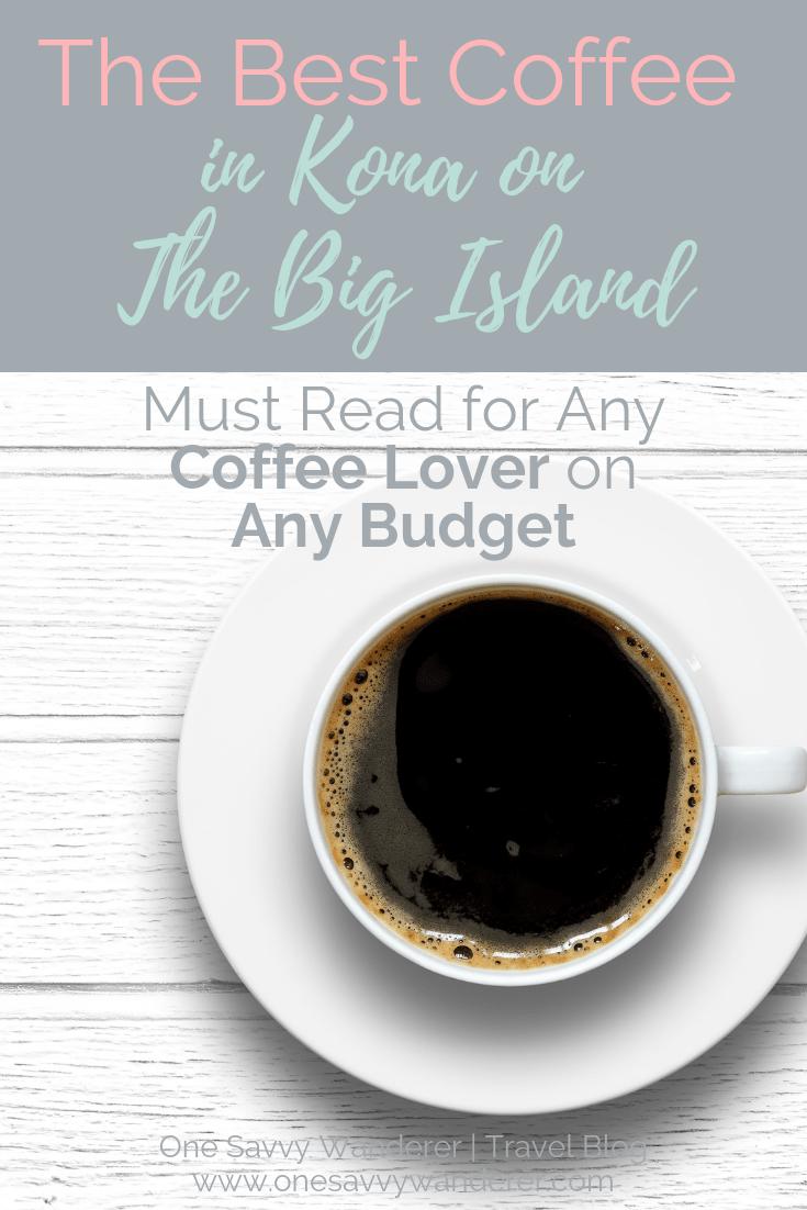 Kona Coffee Shops The Best On The Big Island In 2020 Big Island Kona Kona Coffee