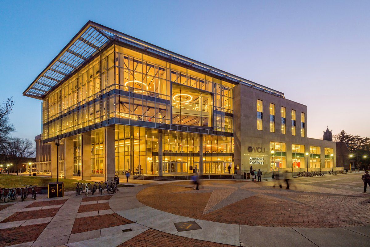 Cabell Library Virginia commonwealth university, James