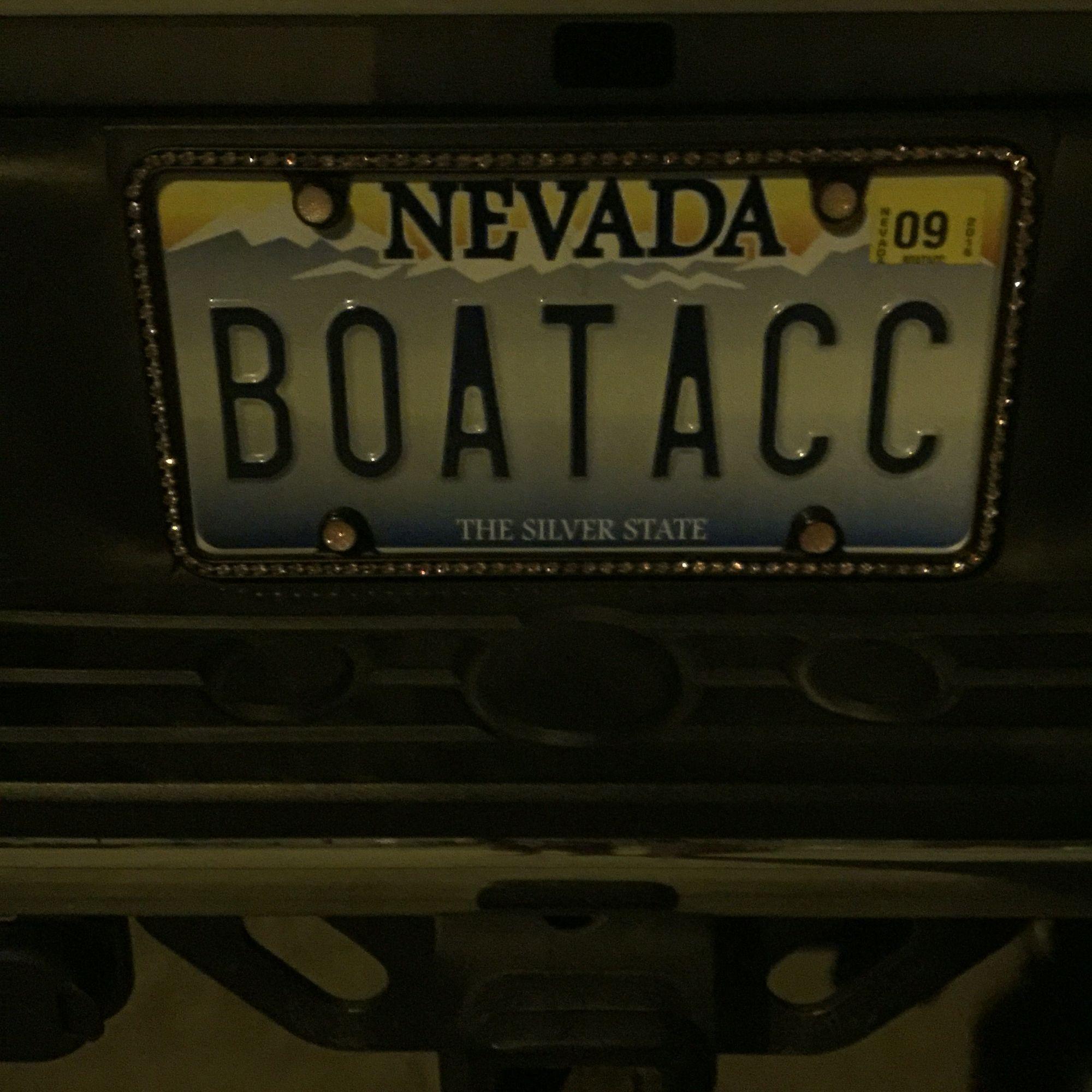 I had to buy a truck so I could tow my boat. I call it a boat ...