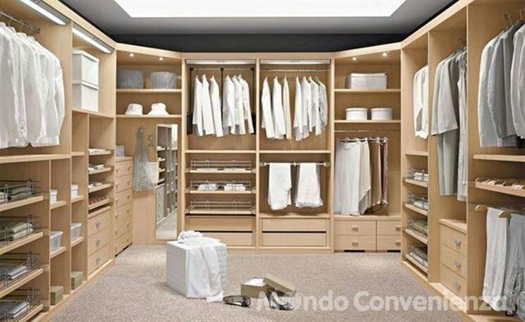 Cabina armadio Organizar el vestidor