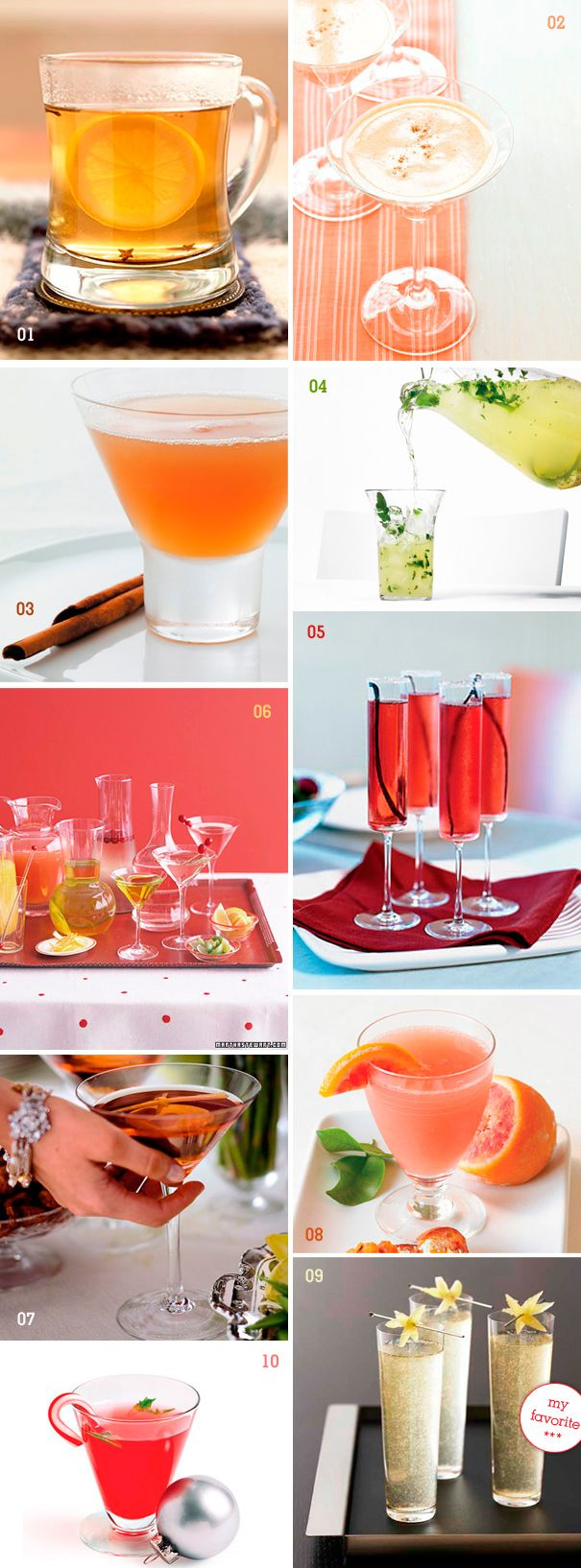 Cant have a party without great cocktails!
