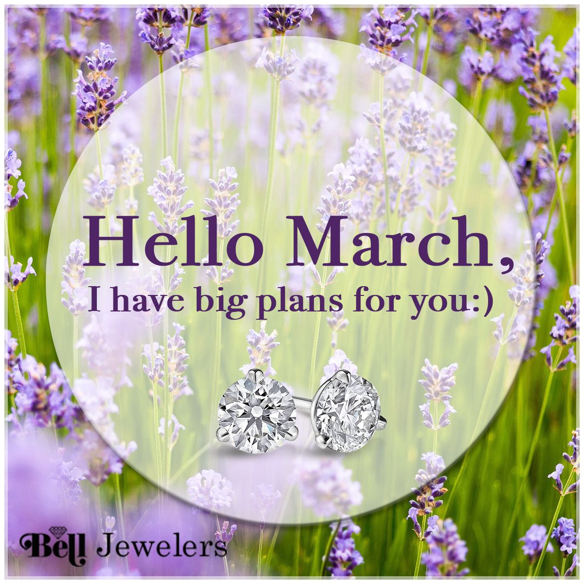 March into this month with sparkles in your future