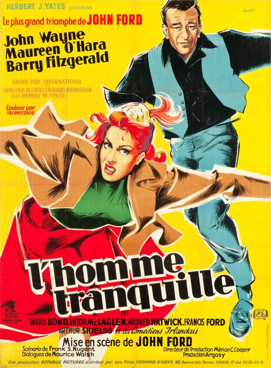 French grande for THE QUIET MAN (John Ford, USA, 1952)